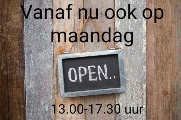Maandag open
